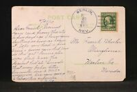 Nevada: Berlin 1910 Comic Postcard, DPO Nye Co