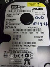 """Western Digital  WD400BD-75JMC0 3.5"""" 40gb Sata HDD"""