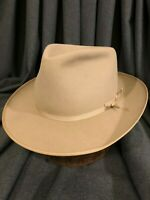 Penneys Marathon 6 7/8-7 Open Road/Stratoliner Clone Early 50's Silverbelly Hat