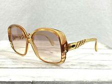 Christian Dior 2064 30 Womens Oversized Sunglasses Amber Gradient Lenses