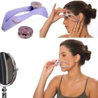Eyebrow Hair Remover Women Facial Spring Threading Epilator Face Defeatherer