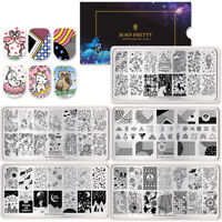 BORN PRETTY Nail Stamping Plates  Bird Flower Image Template Nail Art Tools