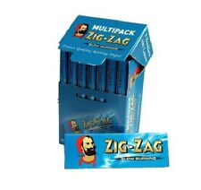 3 Box Papers ZIG-ZAG MULTIPACK (8 pieces)  Rolling Cigarette paper