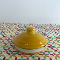 Fiestaware Daffodil SMALL Canister Lid Fiesta Yellow Replacement LID ONLY