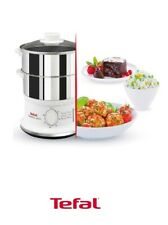 Tefal Convenient Series Stainless Steel Steamer 2 bowls included Dishwasher safe