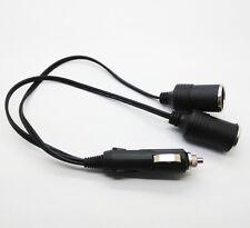 12V Car Auto Twin Double Cigarette Lighter Socket Adaptor 2 Way Splitter Charger