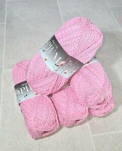 King Cole Opium Palette Chunky Knitting Yarn Knit Craft Wool Cotton 5 x 100g- 21
