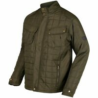 Regatta Lamond Mens Insulated Quilted Water-Repellent Jacket Green RRP £80
