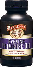 Evening Primrose Oil Barlean's 60 Softgel