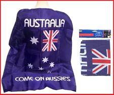 AUSTRALIA FLAG CAPE Come on Aussie's Commonwealth Olympic Souvenir Costume Party