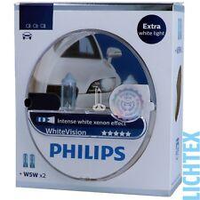 PHILIPS WhiteVision - Intensiver Xenon-Effekt Halogen Scheinwerfer Lampe NEU
