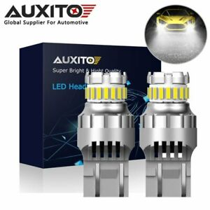 2X T20 7443 7440 LED CANBUS ERROR FREE CAR BRAKE STOP TAIL LIGHT BULB 12V WHITE