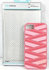 Xdoria Phone Case iPhone 5S / 5 New In Box Pink Red Striped
