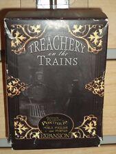 Professor Pugnacious' Portfolio Treachery on the Trains Expansion Board Game New