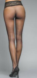 Platino Sinn 10 - Nahtlose Strumpfhose - Sehr fein und transparent - 10 DEN