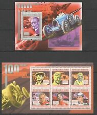 BC322 2011 GUINEA TRANSPORT CARS ANNVERSARY FIRST RACES MONTE-CARLO  KB+BL MNH