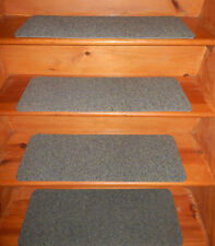 """14 Step  10"""" x 28.1/2""""  Peel & Stick Indoor Stair Treads Staircase Rug Carpet"""