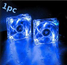 80mm 2V Fans 4 LED Blue for Computer PC Case Cooling + Graphics card fan ZW