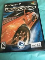 Need for Speed: Underground (Sony PlayStation 2, 2003) Complete EA Games