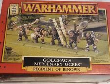 GW Warhammer Dogs of War Golgfag's Mercenary Ogres - METAL SEALED BOX RARE OOP