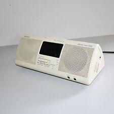 SONY DREAM MACHINE Orologio da Tavolo Radio Sveglia Alarm Anni '80 VINTAGE  5045