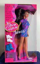 17714 MATTEL 1997 Boîte d/'origine jamais ouverte Movin Groovin poupée barbie//cours avec moi//toverstap
