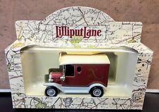 lledo Days Gone 1992 Lilliput Lane10th Anniversary Ford Van - RARE ISSUE - MIB