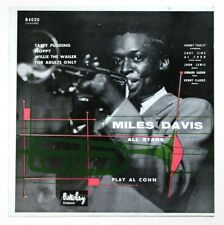 1953 ADVERTISING SHOP MILES DAVIS play Al Cohn barclay 84020 french POS