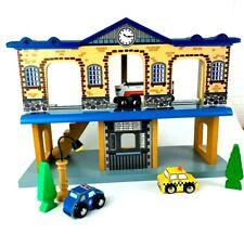 Thomas & Friends Wooden Railway  Train Station 2 Level Sound & Lights Extras