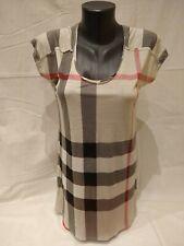Burberry Brit classic plaid T-shirt size S