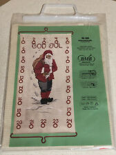 BMB/Broderier Adventskalender Crewel Embroidery Wall Hanging Kit EC Nr.490