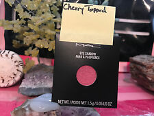 MAC Eye Shadow REFILL CHERRY TOPPED NEW N BOX authentic pro pan FROM MAC STORE