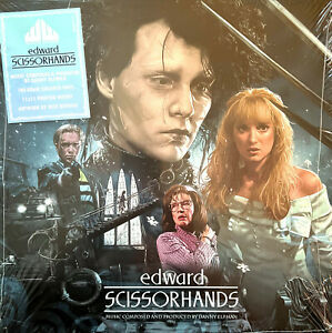 Danny Elfman LP Edward Scissorhands - Deluxe Edition, Colored Vinyl