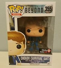 Funko POP- Star Trek- Chekov Survival Suit Walgreens EXCLUSIVE