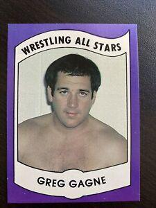GREG GAGNE 1982 Wrestling All Stars Series B Trading Card #4!
