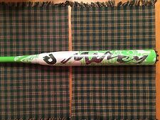 NIW 2013 Demarini Mercy DXMSP ASA Slowpitch Softball Bat 34/25 GREEN HANDLE HOT!