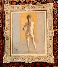 MAJOR WORK, FEMALE NUDE , ANNIS D MAYES (1901-1995), LISTED AMERICAN, ORIGINAL