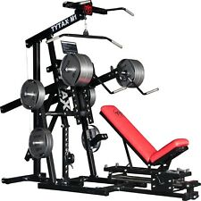 TYTAX® M1 HOME MULTI LEVERAGE GYM MACHINE EQUIPMENT GARAGE FREE WEIGHT BENCH