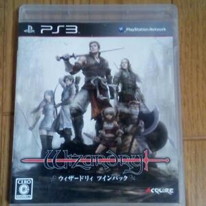 Wizardry TwinPack PlayStation 3 PS3 Acquire Used Japan Boxed Tested Working