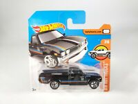 Hot Wheels HW HOT TRUCKS #7/10 Short Card Datsun 620 Black NEW NOC with Protecto