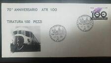 L) 2005 ITALY, TRAIN, RAILWAY, ANNIVERSARY, FDC