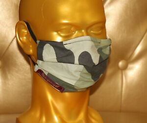 angeldog_Exclusive Alltagsmaske Stoffmaske_Camoflage Motiv_Zeigen Sie Stil_Gr: M