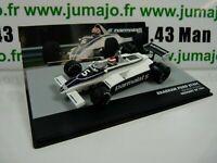 SEN6T eaglemoss 1/43 F1 BRESIL Formule 1 BRABHAM FORD BT49C N.PIQUET 1981