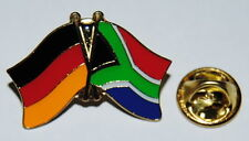 FREUNDSCHAFTSPIN 0130 PIN ANSTECKER DEUTSCHLAND/SÜDAFRIKA FAHNE LÄNDERPIN AFRIKA