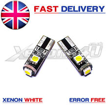 Mercedes W211 Front Side Light Lamp Xenon White Canbus 3 LED Bulbs W5W 501 T10