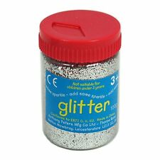 Silver Art and Craft Glitter - 100g Tub AP/092/GTS