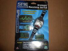 Spy Gear Watch Orologio 4 Funzioni Macchina verità, Codificatore, Allarme New