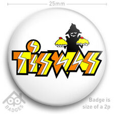 "TISWAS Logo RETRO TV Badge ITV Children's TV -  25mm 1"" Badge"