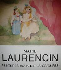Marie Laurencin  Affiche Quadri Galerie Expo