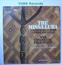 6527 137-la MISSA LUBA & congolais folk-songs-excellent état LP record
